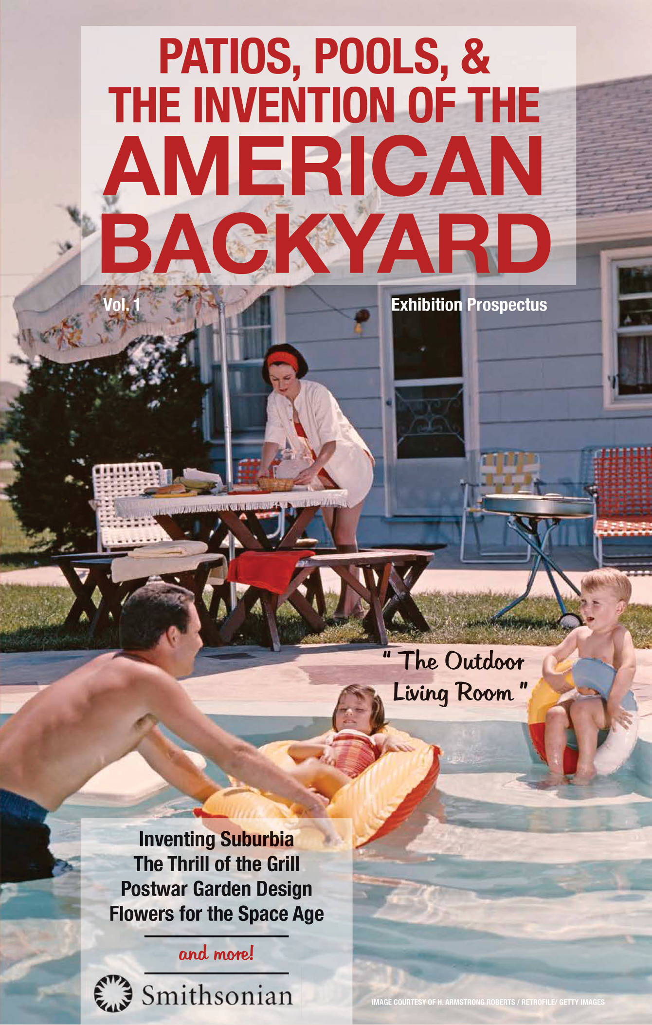 Patios, Pools, U0026 The Invention Of The American Backyard   Graphic Design    Kelsey Miner